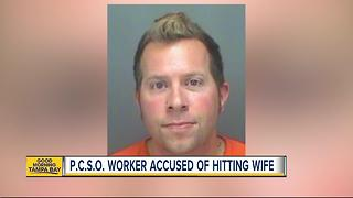 Pinellas County Criminal Justice Specialist arrested for choking his wife, police say - Video