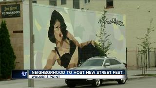 Walker's Point preps for first ever '5th Street Fest' - Video