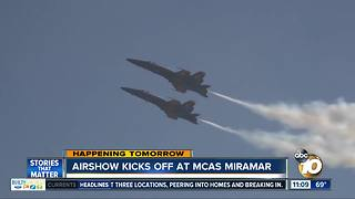 Air show starts Friday at MCAS Miramar - Video