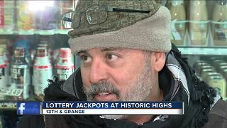 Powerball reaching historic highs - Video