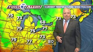 Saturday Evening 7 First Alert Forecast - Video