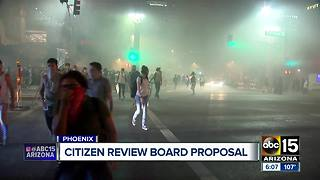 City council considering proposal to create review board on police - Video