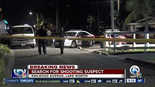 Man shot on Railroad Avenue in Lake Worth - Video