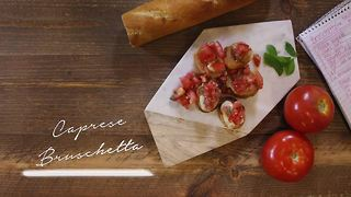 Simply Sweet Allison Caprese Bruschetta