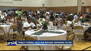 Hundreds attend Boise refugee's funeral