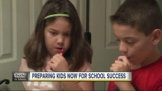 Helping kids transfer from summer fun to morning school routine - Video