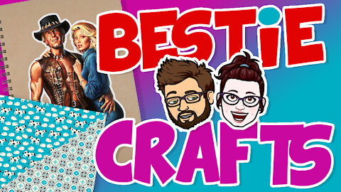 Bestie Crafts - Create a unique and fun personalized journal!