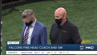 Falcons fire head coach and general manager