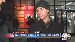 Shoppers out early for Black Friday deals