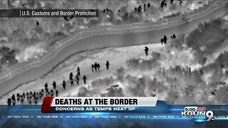 Border Patrol worried migrant deaths will continue through summer