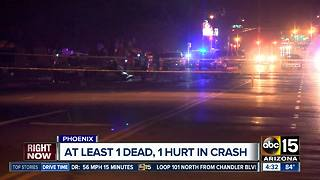Multiple cars involved in deadly crash in Phoenix - Video