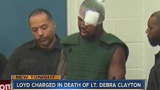 Loyd charged in death of Lt. Debra Clayton - Video