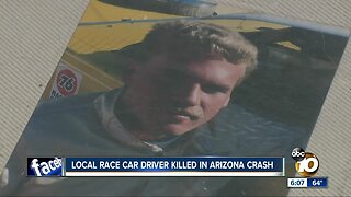 Local race car driver killed in Arizona crash