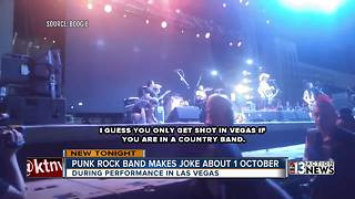 NOFX makes inappropriate joke about mass shooting - Video