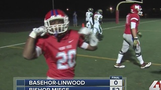 Bishop Miege wins state semifinals game - Video