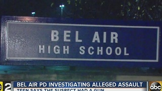 Police investigating alleged assault near Bel Air High School - Video