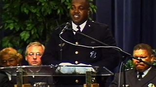 From The Vault: Slain Cincinnati police Spec. Ronald Jeter is laid to rest - Video