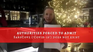 Authorities forced to admit SarsCov2 ('Covid-19') does not exist
