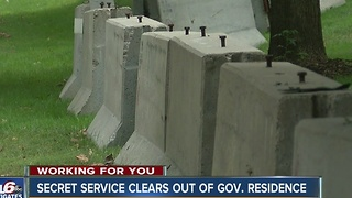 Secret Service clears out Indiana Governor's residence