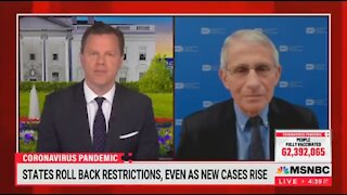 Fauci Is Confused Why Texas COVID Cases Are Dropping