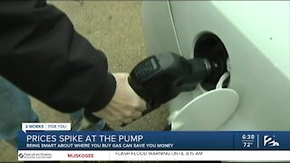 Hurricane Laura Affecting Gas Prices In Tulsa