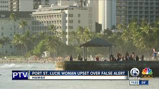 Port St. Lucie woman upset over false alert - Video