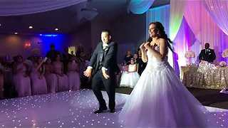 This Bride's Dance With Her Dad Takes A Very Refreshing Twist - Video