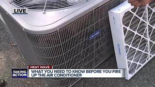 Tips before firing up air conditioner - Video