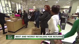 Don't Waste Your Money: Best and worst retailers for returns