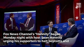 Hannity Asks Fans To Stop Keurig Boycotts - Video