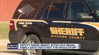 Macomb County Sheriff deputies accused of crossing the line in chaotic cell phone video - Video