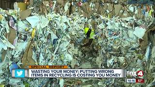 Putting the wrong items in recycling is costing you money - Video