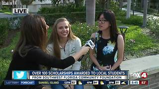 Southwest Florida Community Foundation awards 135 scholarships to local students - 8:30am live report - Video
