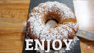 Learn How to Cook This Delicious Apple Cake for the Holidays | Rare Life - Video