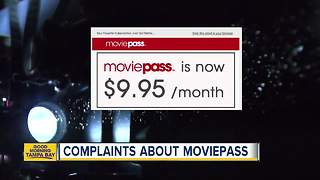 Complaints about Moviepass - Video
