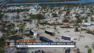 North Shore firefighter helping with medical needs in Florida after Irma - Video