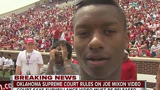 Oklahoma Supreme Court ruled Joe Mixon video to be released to public - Video