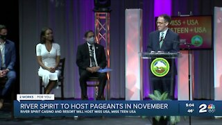 River Spirit to host pageants in November