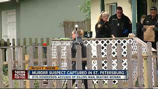 Suspect arrested in murder of man, attempted murder of sister - Video