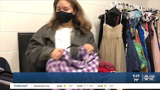 Blake High School students open 'Blake Boutique' shopping experience for peers affected by pandemic