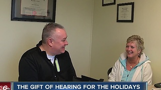 Firefighter gets the gift of hearing - Video
