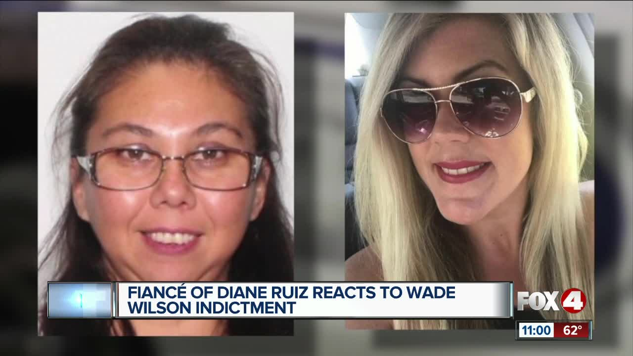 Fiance of Diane Ruiz reacts to Wade Wilson's murder indictment