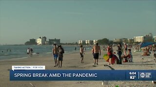 Spring Break in Tampa Bay amid the pandemic