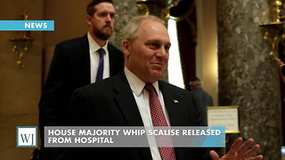House Majority Whip Scalise Released From Hospital - Video