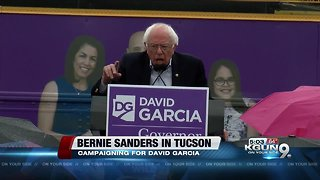 Bernie Sanders to campaign in Tucson with Garcia