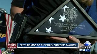 Brotherhood of the Fallen supports families of slain lawn enforcement - Video