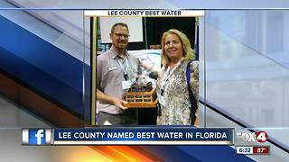 Lee County has best-tasting water in Florida