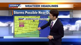 Josh Wurster's Saturday Morning Forecast - Video