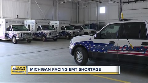EMTs, paramedics in high demand throughout Michigan