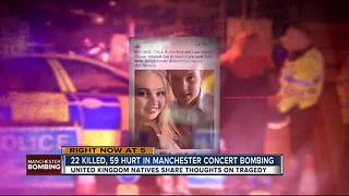 Tampa area Brits react to Manchester attack - Video